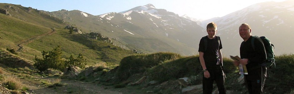 Guided walking holidays in the Sierra Nevada Mountains