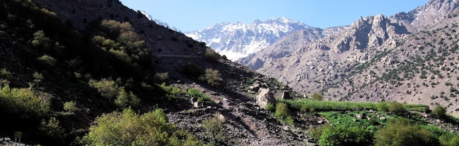 trekking the high atlas of morocco